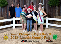 8631 Duane Thompson Grand Champ Rabbit