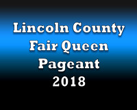 Fair Queen Pageant cover sheet